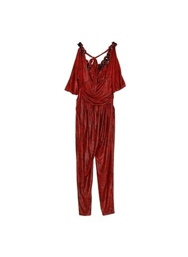 Paris Elbise Kırmızı